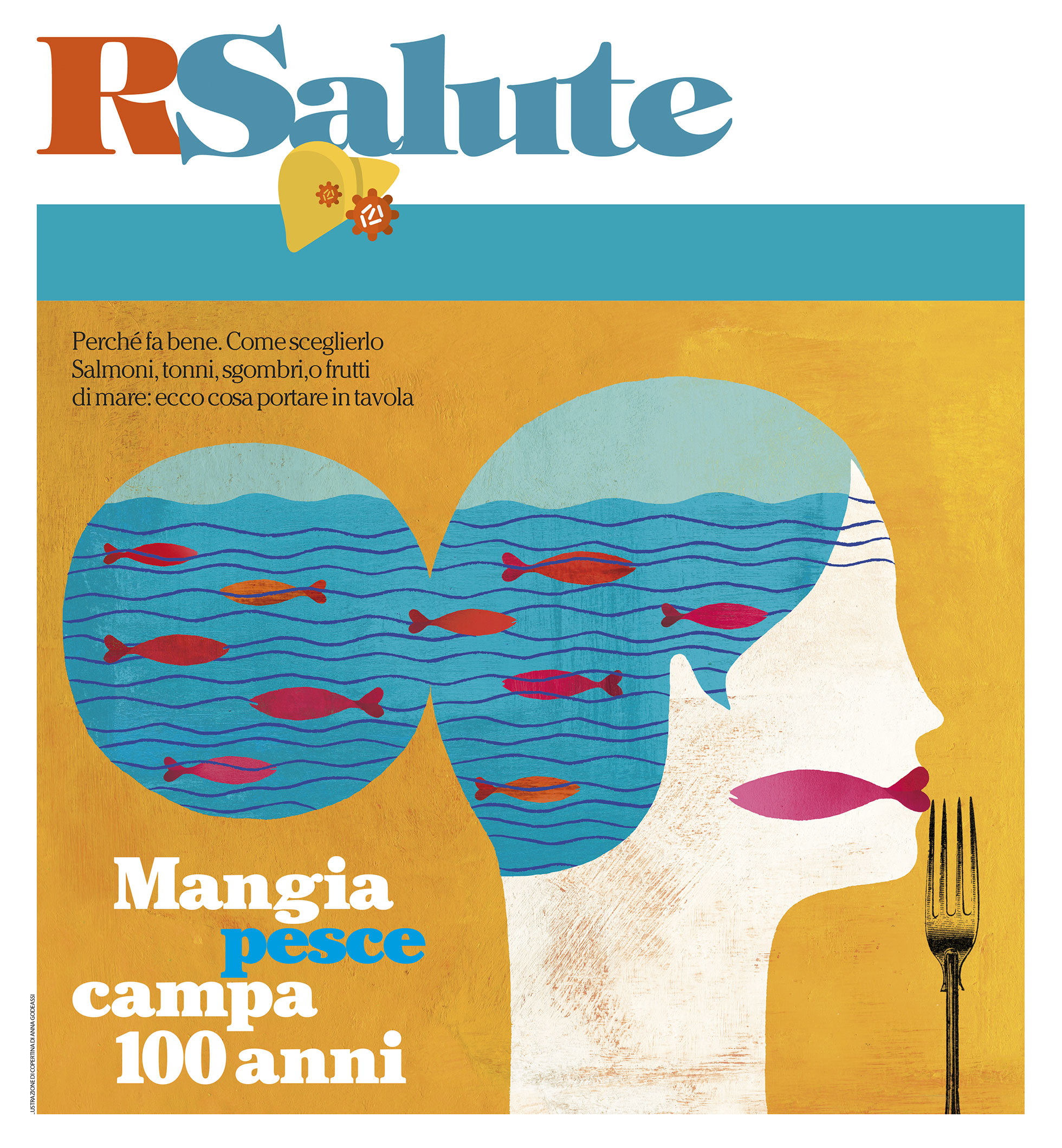 Food magazine in contest repubblica