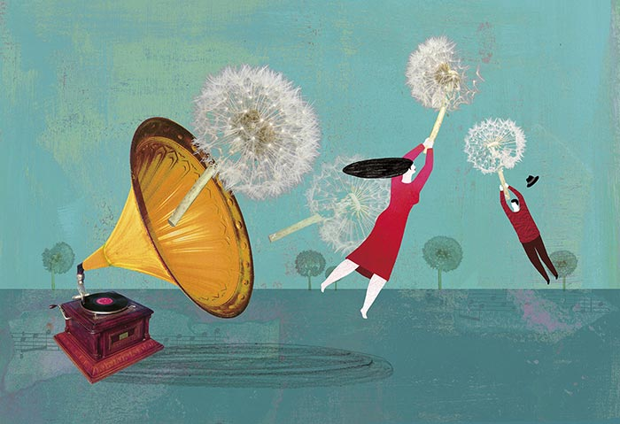 music-happiness-magazine-larepubblica-illustration